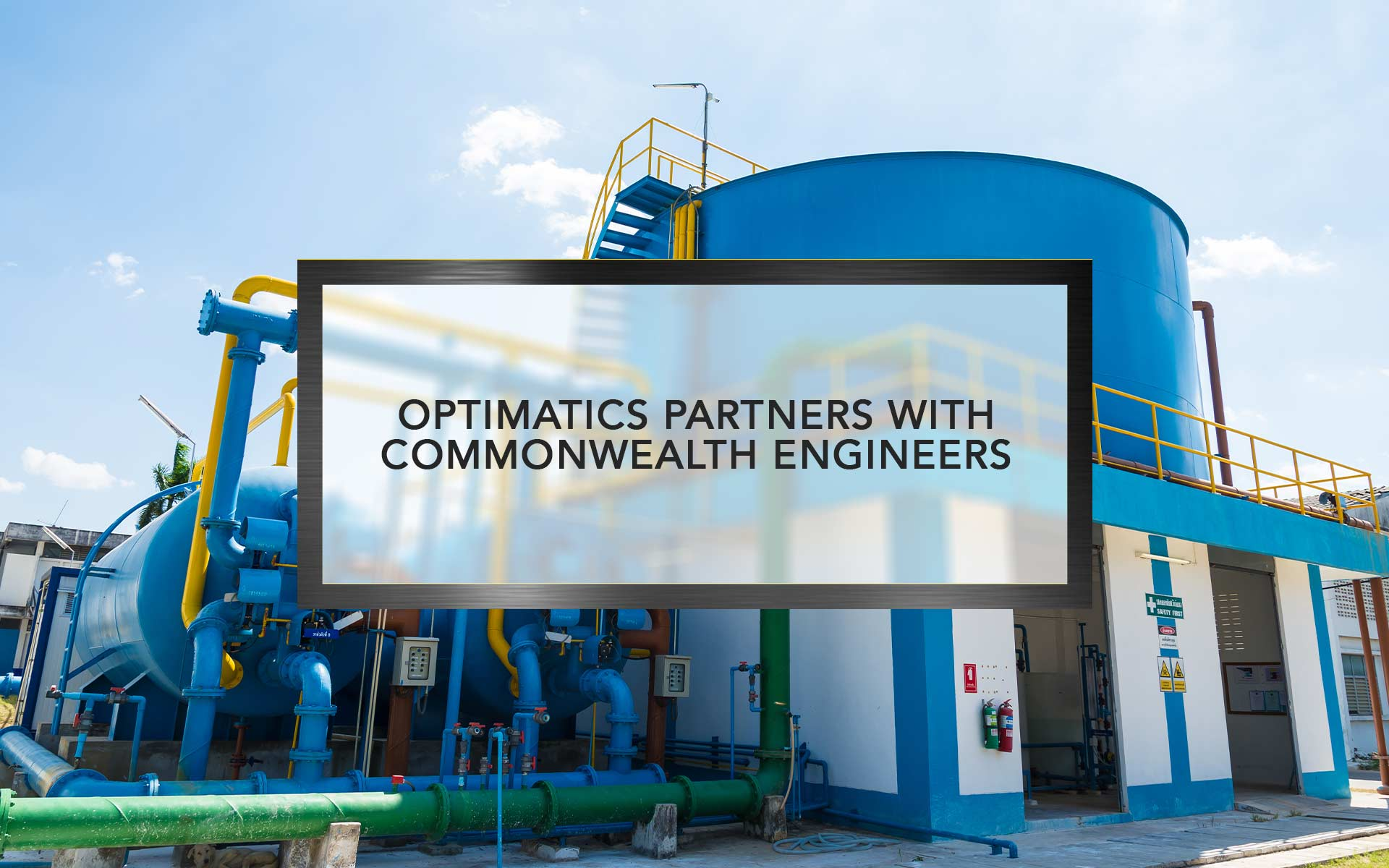 Optimatics partners with Commonwealth Engineers