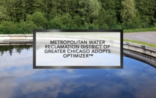 Metropolitan Water Reclamation District of Greater Chicago adopts Optimizer™